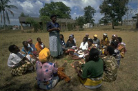 Picture of a savings group in Kenya